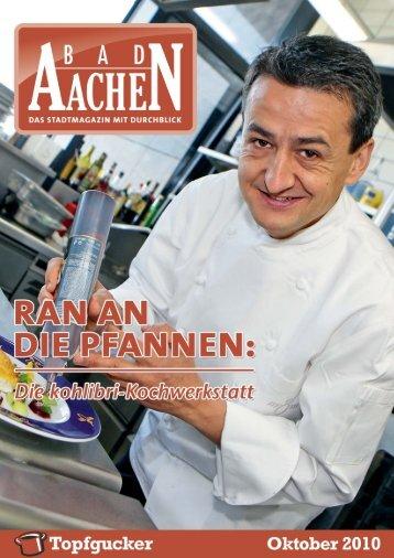 In der kohlibri-Kochwerkstatt wird köstlich am ... - Bad Aachen