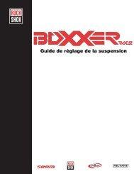 Guide de réglage de la suspension - SRAM.com