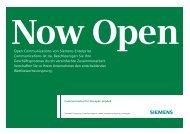 Communication for the open minded - Siemens Enterprise ...