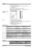 3041 Ruimtetemperatuurregelaar RCU10... - Siemens - Page 4