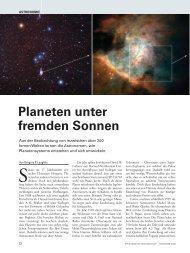 Planeten unter fremden Sonnen - Sigma Xi