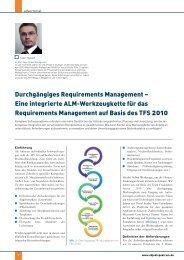 Durchgängiges Requirements Management – Eine integrierte ALM ...