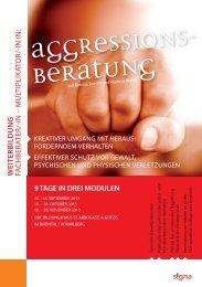 Weiterbildung in Aggressionsberatung - Signa AG