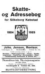Skatte- og Adressebog - Silkeborg Arkiv