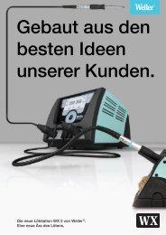 Brochure Weller WX2 Deutsch