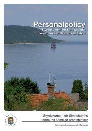 Policy (A5-folder som pdf-dokument 1 MB) - Simrishamn Kommun