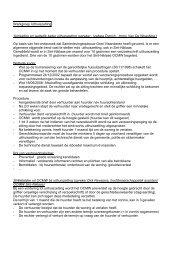 Werkgroep Uithuiszetting 1)Inleiding en wettelijk ... - Stad Sint-Niklaas