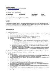 agenda+bondige website.pdf - Stad Sint-Niklaas