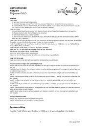 notulen publ 250113.pdf - Stad Sint-Niklaas