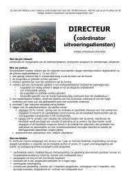 11 A5a directeur coö uitv dienst.pdf - Stad Sint-Niklaas