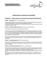huishoudelijk reglement gr 26-10-2012.pdf - Stad Sint-Niklaas