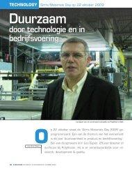 Duurzaam door technologie en in bedrijfsvoering - Sirris