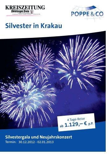 Silvester in Krakau - Kreiszeitung Böblinger Bote