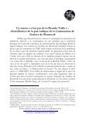 « Ce roman «n'est pas de la Reonde Table». - Université Rennes 2 - Page 3