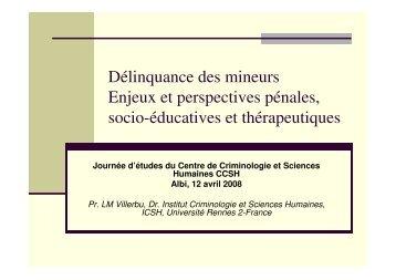 Adolescence entre l'exil et la haine - Université Rennes 2