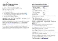 Regler för resa med SJ Privatresekort 30 juni – 14 december 2013 ...
