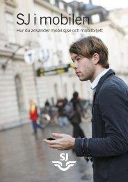 'SJ i Mobilen' (pdf)