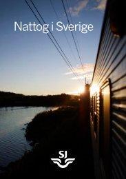 Nattog i Sverige - SJ