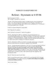 Referat fra styremøte 4 2005-06