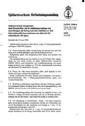 SJÖFS 1996:6 - Sjöfartsverket