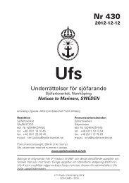 Ufs 430 - Sjöfartsverket