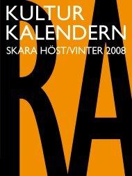 SKARA HÖST/VINTER 2008 - Skara kommun