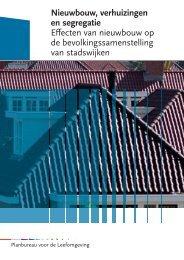 Nieuwbouw, verhuizingen en segregatie Effecten van ... - Rivm
