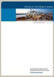 Produktinformationen Leistungsdeckung - AGA-Portal