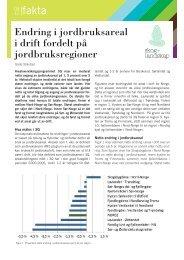 Endring i jordbruksareal i drift fordelt på ... - Skog og landskap