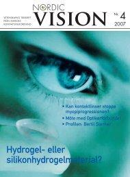nr 4 2007 - Sveriges Kontaktlinsförening