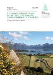 brukets kulturlandskap i nordland,troms og ... - Skog og landskap