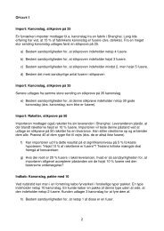 2 Import: Kanonslag, stikprøve på 25 En fyrværkeri-importør ...