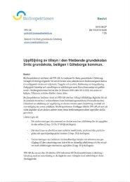 Snitz grundskola i Göteborgs kommun ... - Skolinspektionen