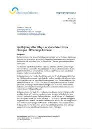 Stadsdelen Norra Hisingen i Göteborgs kommun ... - Skolinspektionen