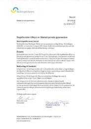 Båstad privata gymnasium Beslut efter tillsyn - Skolinspektionen