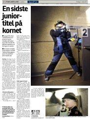 Ensidste junior- titelpå kornet - De Danske Skytteforeninger