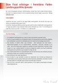 MOD EN NY FÆLLES LANDBRUGSPOLITIK I EU - Slow Food - Page 6