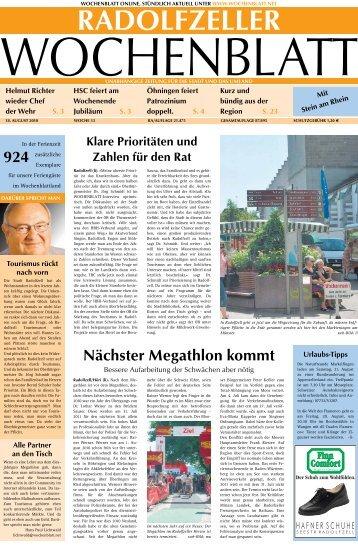 Ausgabe 33 / 2010 - Singener Wochenblatt