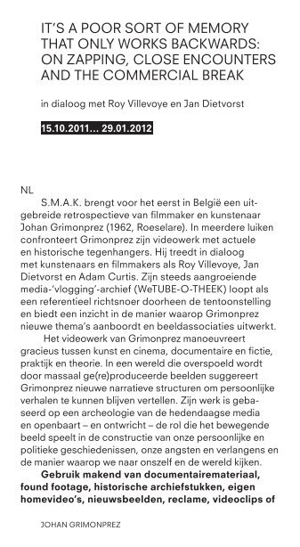 Download de expogids - Smak