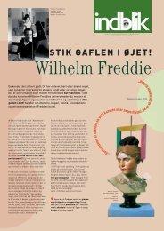 Undervisningsmaterialet Wilhelm Freddie - udskolingen (pdf)