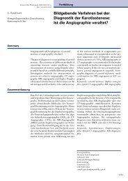 2000-35 Bildgebende Verfahren bei der Diagnostik der Karotisstenose