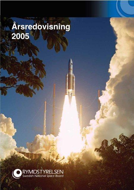 årsredovisning år 2005 - Rymdstyrelsen