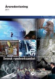 årsredovisning 2011 - Rymdstyrelsen