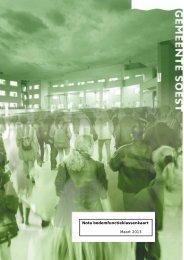 Nota Bodemfunctiekaart 2013 - Gemeente Soest