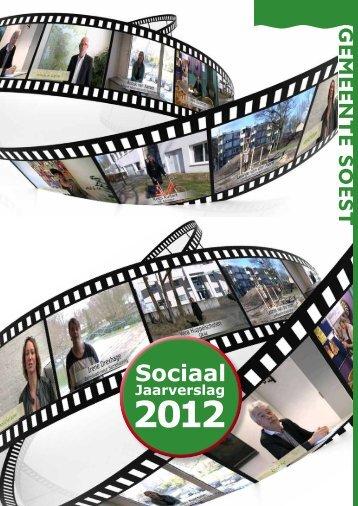 Sociaal Jaarverslag 2012 - Gemeente Soest
