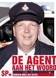 De agent aan het woord - Sp