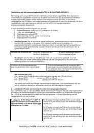 Toelichting LFB voor werknemers - GGZ Nederland