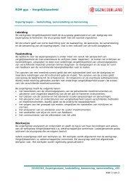 Expertgroepen, taakstelling, benoeming en ... - GGZ Nederland