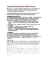 algemene informatie adviescommissie Innovatie ... - GGZ Nederland