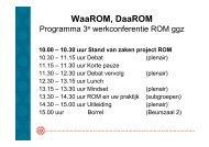 WaaROM, DaaROM - GGZ Nederland
